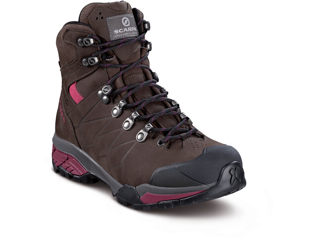 Scarpa ZG Pro GTX Buty Kobiety, dark coffee/red plum